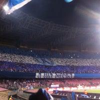 Photo taken at Stadio San Paolo by Cinzia Carrozza on 5/5/2013
