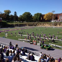 Photo taken at The Rock Bowl @ Loras College by Pat M. on 10/12/2013