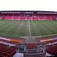 Photo taken at Riverside Stadium by Birmingham City Football Club on 3/16/2013