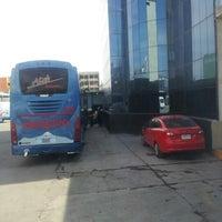 Photo taken at Terminal de Autobuses ATAH by Jerusalén G. on 9/22/2012