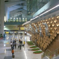 Photo taken at Terminal 3 by Abhijeet S. on 9/21/2012