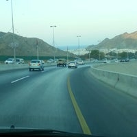 Photo taken at Qurum Darsait Bridge by Kay A. on 11/14/2012
