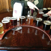 Photo taken at Harvest Moon Brewery by Matt M. on 3/2/2013