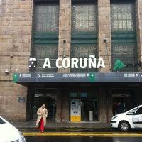 Photo taken at Estación de A Coruña-San Cristovo by David N. on 2/24/2013