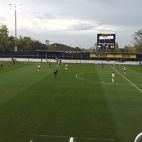 Photo taken at U-M Soccer Complex by Brian B. on 10/16/2016