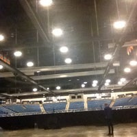 Photo taken at Hartman Arena by Bobby on 5/24/2014