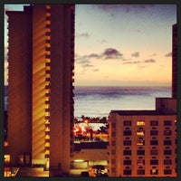 Photo taken at Hyatt Place Waikiki Beach by Bobby Berk on 12/13/2012