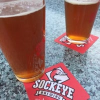 Photo taken at Sockeye Grill And Brewery by Michael N. on 4/1/2016