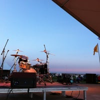 Photo taken at The Stage @ Balloon Fiesta Park by Marlon L. on 10/8/2012