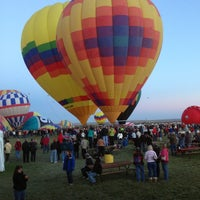 Photo taken at The Stage @ Balloon Fiesta Park by Marlon L. on 10/9/2013