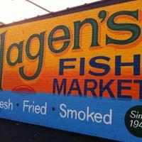 Photo taken at Hagen's Fish Market by Joe S. on 12/22/2012
