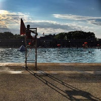 Photo taken at Highbridge Park Pool by Miriam D. on 7/29/2015