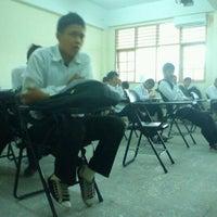 Photo taken at Universitas Muhammadiyah Sumatera Utara (UMSU) by Muhammad Dio W. on 11/9/2012