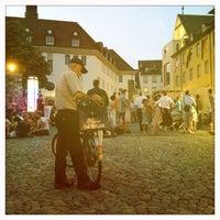 Photo taken at Augustinerplatz by Vi H. on 7/20/2013