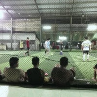 Photo taken at Cimahpar Futsal by Rizki W. on 3/12/2013