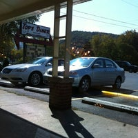 Photo taken at Top's Diner by Aaron V. on 9/30/2012