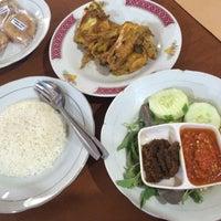 Photo taken at Ayam Goreng Kampung Mbah Karto by samala t. on 3/21/2016