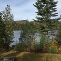 Photo taken at Long Lake by Andrew R. on 10/24/2015