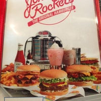 Photo taken at Johnny Rockets by Andres C. on 12/23/2012