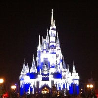 Photo taken at Cinderella Castle by Nicole on 12/16/2012