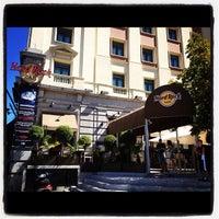 Photo taken at Hard Rock Cafe Madrid by Paula on 11/21/2012