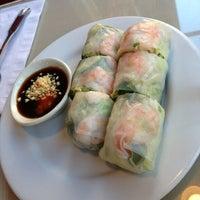 Photo taken at Benja Thai & Sushi by Jonathan D. on 12/21/2012