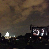 Photo taken at Screen on the Green by Robert V. on 7/28/2015