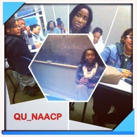Photo taken at QU Lender School of Business Center by QU_NAACP on 10/25/2012
