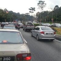 Photo taken at Persimpangan Lebuhraya Mahameru by Airel P. on 1/18/2013