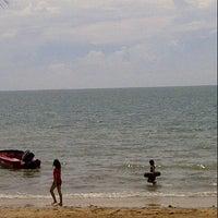 Photo taken at Pantai Teluk Kemang by Haizal N. on 10/14/2012