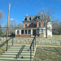 Photo taken at General Dodge House by Pam K. on 2/19/2013