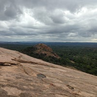 Photo taken at Enchanted Rock State Natural Area by Frank B. on 7/27/2013