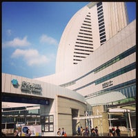 Photo taken at PACIFICO Yokohama by Minsu K. on 5/26/2013