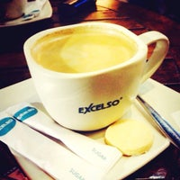 Photo taken at EXCELSO Café by Heru P. on 12/5/2015