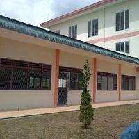 Photo taken at Universitas Sisingamangaraja XII Siborongborong by Danus W. on 1/11/2013