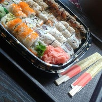 Photo taken at Iron sushi by Lorna V. on 10/23/2014