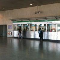 Photo taken at Metro Pudahuel by Maria Fernanda R. on 11/6/2012