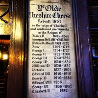 Photo taken at Ye Olde Cheshire Cheese by Marc S. on 5/10/2013
