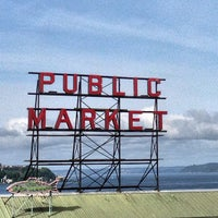 Photo taken at Pike Place Market by Daniel Eran D. on 5/14/2013