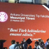 Photo taken at Ankara Üniversitesi Tıp Fakültesi Morfoloji Binasi by Elnaz T. on 6/21/2013