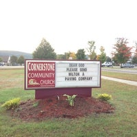 Photo taken at Cornerstone Church by Harjit on 10/2/2012