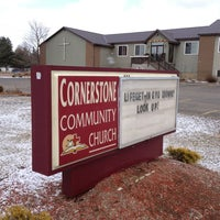 Photo taken at Cornerstone Church by Harjit on 3/16/2013