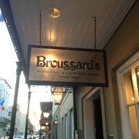 Photo taken at Broussard's Restaurant & Courtyard by Harjit on 6/6/2013