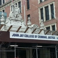Photo taken at John Jay College of Criminal Justice by Abdul S. on 1/21/2013