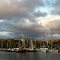 Photo taken at Porto di Santa Teresa di Gallura by Олана on 9/15/2013