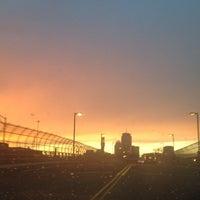 Photo taken at 4th Street Bridge by Joshua B. on 10/26/2013