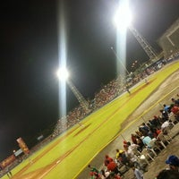 Photo taken at Estadio Kenny Serracín by Graciela C. on 4/28/2013