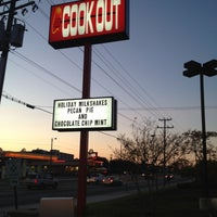 Photo taken at Cook-Out by Gabriella on 11/16/2012