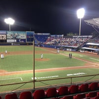 Photo taken at Estadio de Beisbol Eduardo Vasconcelos by Riko Z. on 4/10/2013
