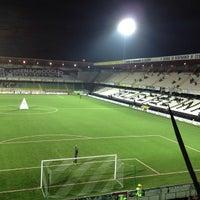 Photo taken at Orogel Stadium Dino Manuzzi by Ermanno C. on 3/27/2013